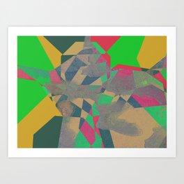 SERENUM FONTIBUS N2 Art Print