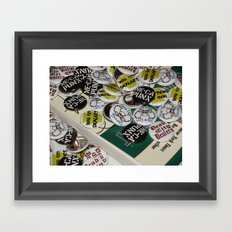 Catch-All Framed Art Print