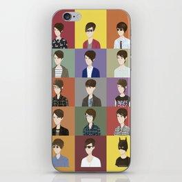 Tegan and Sara: Montage #2 iPhone Skin