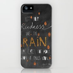 Kindness (chalkboard) iPhone (5, 5s) Slim Case