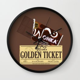 charlie and the chocolate factory Wall Clock