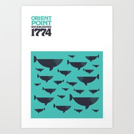 Orient Point, Long Island Limited Edition Print Art Print