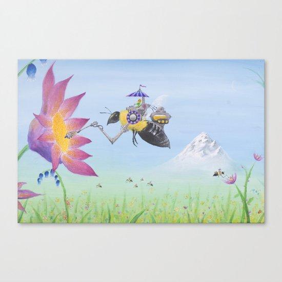 Sobaloopsian Nectarine Canvas Print