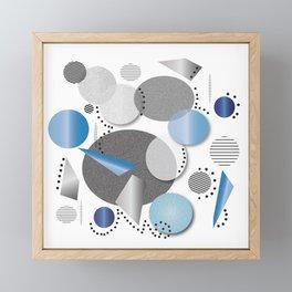 Paper Floats Framed Mini Art Print