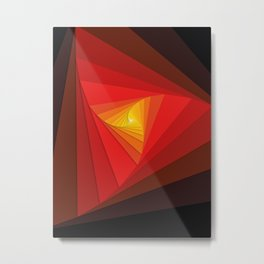 Triangular Gen II Metal Print