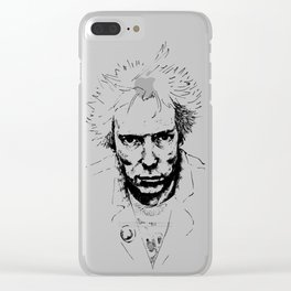 The world is rotten Clear iPhone Case