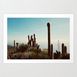 Le Jardin Botanique Art Print