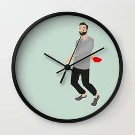 El Jefe Wall Clock