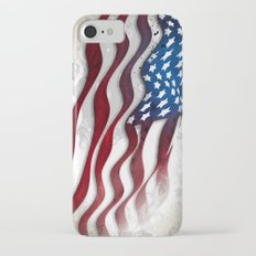 Old Glory...long may she wave Slim Case iPhone 8