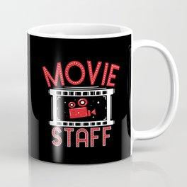 Movie Staff - Watching Movies Gift Coffee Mug