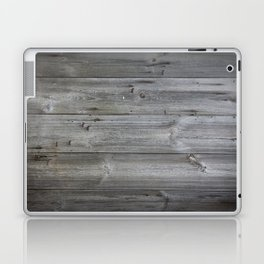Wood texture - wooden background 1 Laptop & iPad Skin