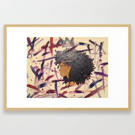 Kween Framed Art Print