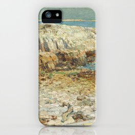 Childe Hassam A North East Headland 1901 Painting iPhone Case