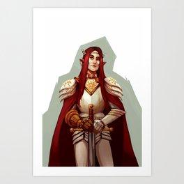 Maedhros the Tall Art Print