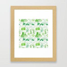 sant ptrick day, irish gift, ireland, Framed Art Print