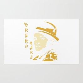 bruno mars Rug