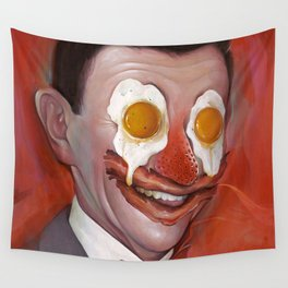 Mr. Breakfast Wall Tapestry