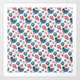 Hygge Pattern Art Print