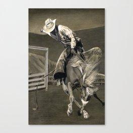 Cowboy Eddie Canvas Print