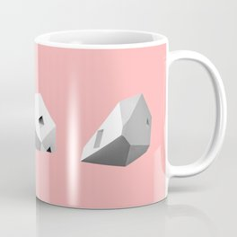 Transformations on a Cube in Pink Coffee Mug