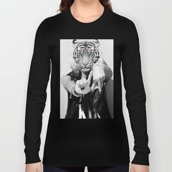 TIGER GIRL Long Sleeve T-shirt