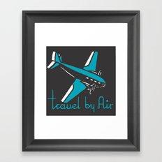 Travel By Air Framed Art Print