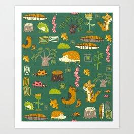 Hedgies Art Print