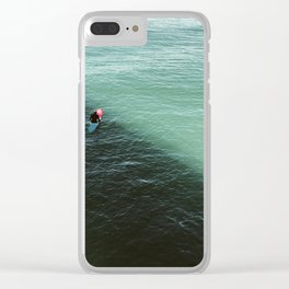 shade + light Clear iPhone Case