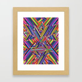 The Shattering Framed Art Print