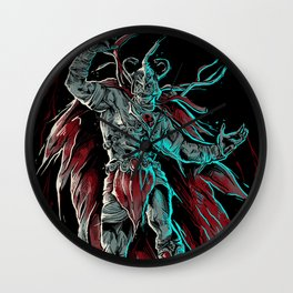 MUMM-RA BLACK THEME Wall Clock