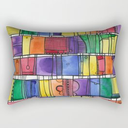 Global City Rectangular Pillow