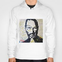 steve jobs Hoodies featuring Steve Jobs by Phil Fung