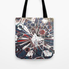 Abstract Duck Face Tote Bag