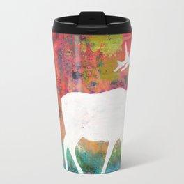 How Wild It Was Elk Collage Travel Mug