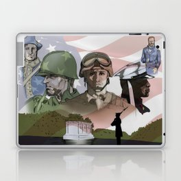 Evolution of the American Soldier Laptop & iPad Skin