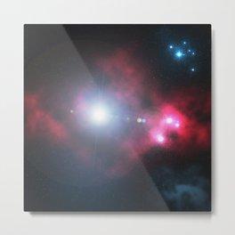 Nebula New Borns Metal Print