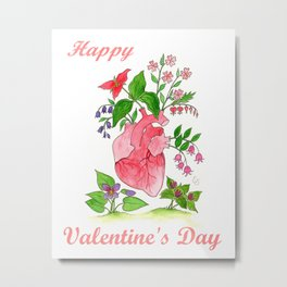 Happy Valentine's Day Metal Print