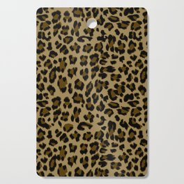 Leopard Print Pattern Cutting Board