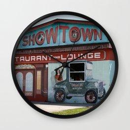 Showtown Wall Clock