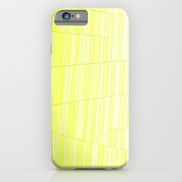 Yellow Brick iPhone Case