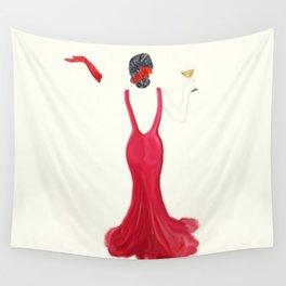 Diva toast Wall Tapestry