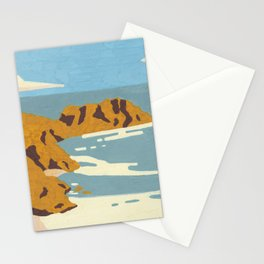 Beach Cliffs Stationery Cards