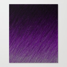 Funky Dark Purple Canvas Print