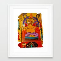 simpson Framed Art Prints featuring Simpson by Samantha Sager