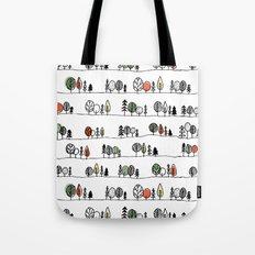 Forest Doodle Tote Bag