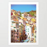 italy Art Prints featuring Italy by GF Fine Art Photography