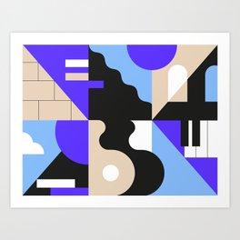 Sounds II Art Print