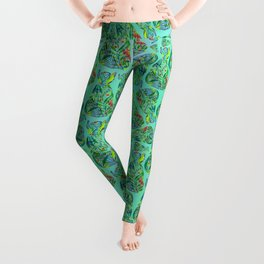 The Botanist's Cat Leggings