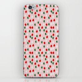 Xmas Pop Pattern iPhone Skin
