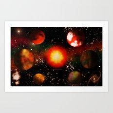 SPACE - 10223013 - 007 Art Print